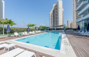 Netanya, South-Beach, Lagoon, 4 room apartment (LB)
