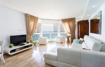 Netanya, Nitza Blvd., 5 rooms-Stunning Sea-View!